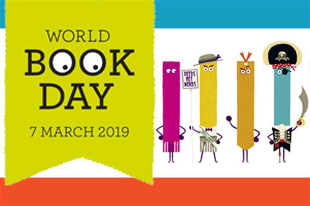 Image result for world book day 2019 logo